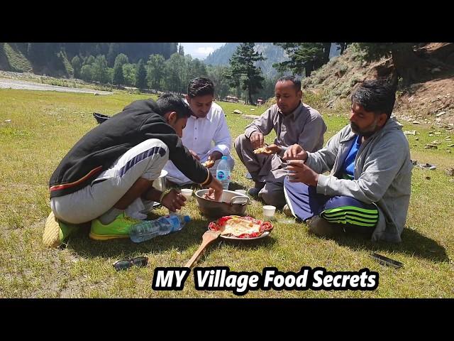 BreakFast in Naran | MY Village Food Secrets