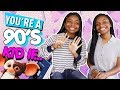 You're A 90's Kid If...| Deja and Di-V