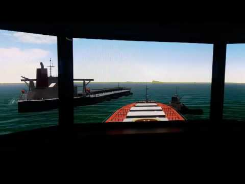 Ship to ship bulk carrier (30/07/2016)