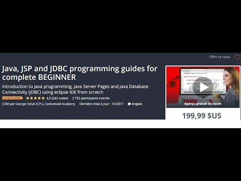 Khóa Học Java, JSP and JDBC programming guides for complete BEGINNER - khosinhvien.com thumbnail