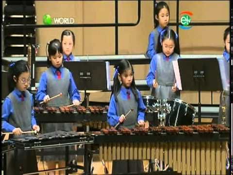 Marching Season Percussion Band