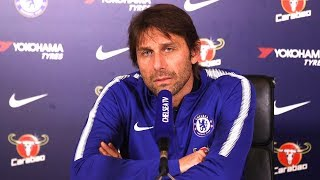 Antonio Conte Full Pre-Match Press Conference - Huddersfield v Chelsea - Premier League