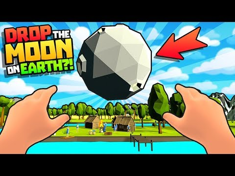 STUPID VR GOD *DROPS* MOON ON EARTH?! || (New Savannah Update) Deisim VR HTC Vive Gameplay