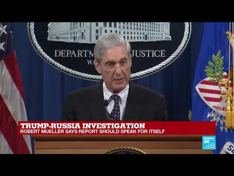Trump-Russia Investigation: Robert Mueller makes first public statement