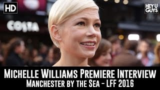 Michelle Williams Interview - Manchester by the Sea LFF Premiere