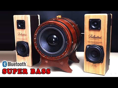 Building 2.1 Bluetooth speaker with 100W Subwoofer