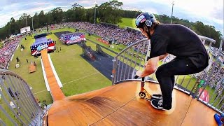 One of Ryan Williams's most viewed videos: MINI SCOOTER vs MEGA RAMP!
