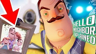 HELLO NEIGHBOR EXPLAINED?! - The Neighbors Heartbreaking Family History Revealed 😭- (Gameplay 6)