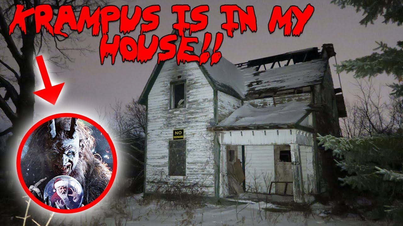 I SUMMONED KRAMPUS THE CHRISTMAS GHOST AND HE CAME TO MY HOUSE!! | MOE SARGI