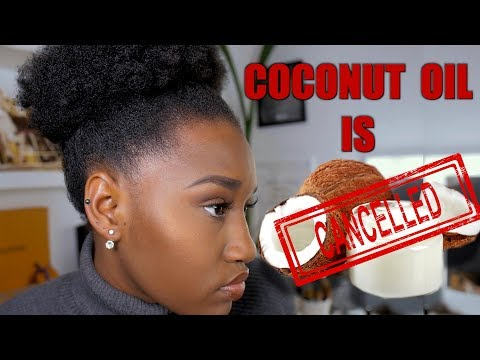 STOP USING COCONUT OIL ON YOUR 4C HAIR!! 😭😭YOU CAN DO BETTER SIS + GIVEAWAY | Raven Navera