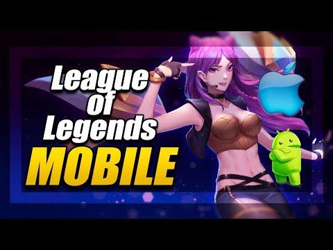 видео: Мобильная Лига Легенд Официально на Андроид и Айфон | official league of legends mobile android  ios