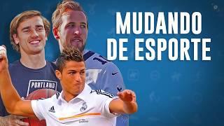 Craques do Futebol Jogando Outros Esportes: Cr7 Messi Ibra