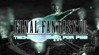 tech demo hd final fantasy vii running on ps3