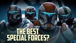 Were Republic Clone Commandos the BEST Special Forces Operators?