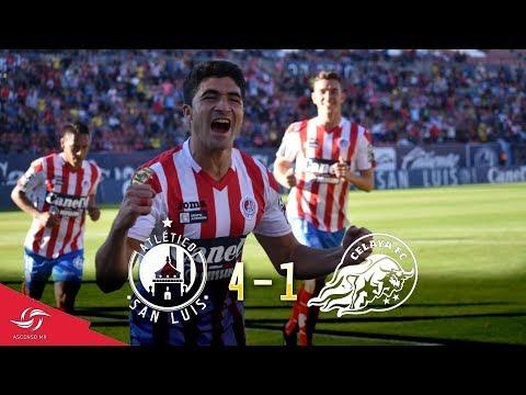 ATLÉTICO DE SAN LUIS 4-1 CELAYA | J5 ASCENSOMX from YouTube · Duration:  5 minutes 1 seconds