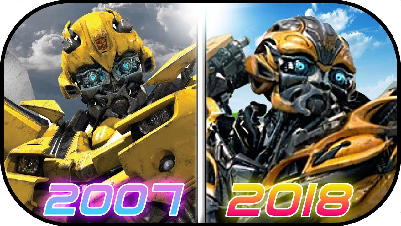 Evolution Of Bumblebee In Transformer Movies 2007 2017 Bumblebee