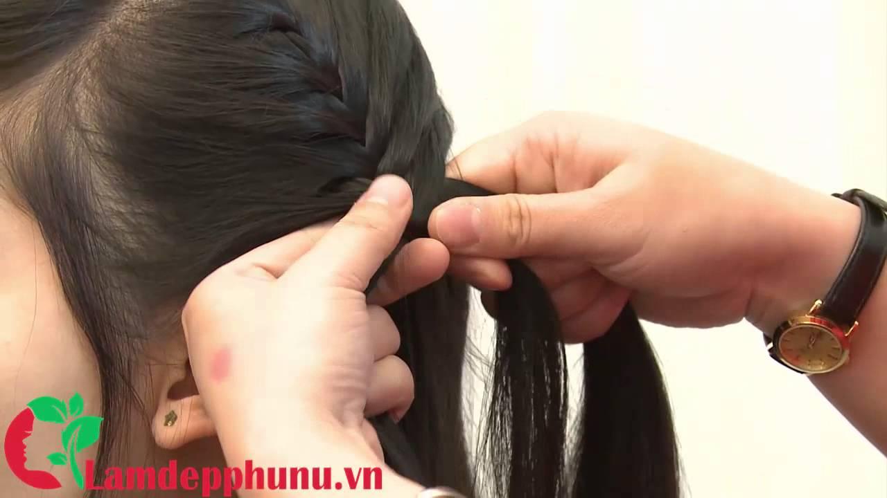Hướng dẫn tết tóc: Kiểu tết 2 bên đơn giản