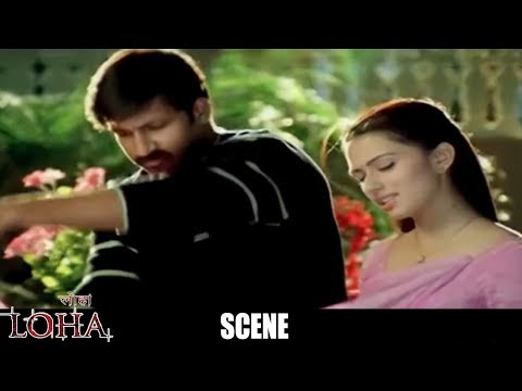 Loha The Iron Man Hindi Dubbed Movie Scenes - Gowri Pandit Introduction Scene - Eagle Hindi Movies
