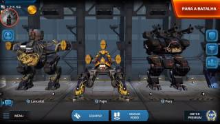War Robots test Server - revised weapon visual effects