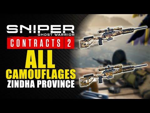Sniper Ghost Warrior Contracts 2 guía - Dónde encontrar los 2 camuflajes de Zindha