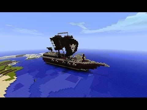 Minecraft-Морской Бой #2 Эпик Батл!! 2vs1