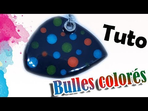 comment faire de la p te fimo avec des bulles color es tutobrain plateforme de tutoriel en. Black Bedroom Furniture Sets. Home Design Ideas