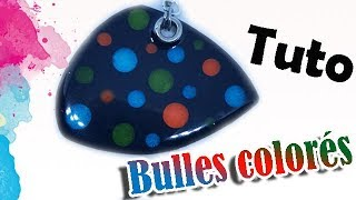 TUTO FIMO/POLYMÈRE: BULLES COLORÉE | PolymerClay Tutorial Colorful bubbles