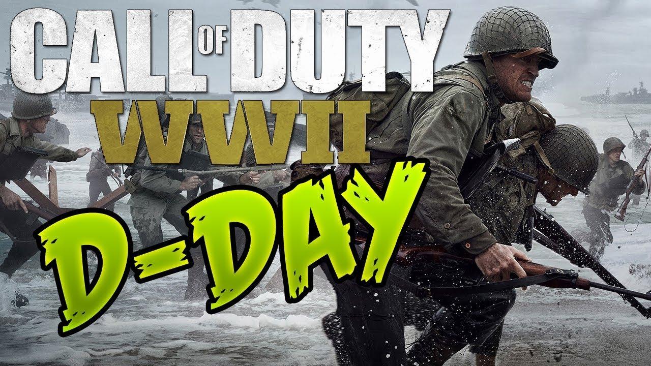 Call of duty ww2 d day 4k 2160p 3440x1440 60fp - Is cod ww2 4k ...