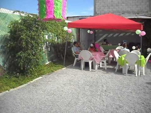 Jardin de eventos para fiestas infantiles en tijuana youtube for Jardines para eventos