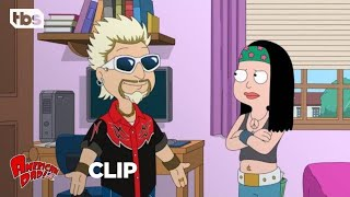Скачать American Dad Jeff Becomes Guy Fieri CLIP TBS