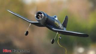 American F4U Corsair vs Japanese Zero Fighter (RC Airplanes