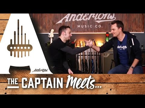 The Captain Meets Leo from Frog Leap Studios