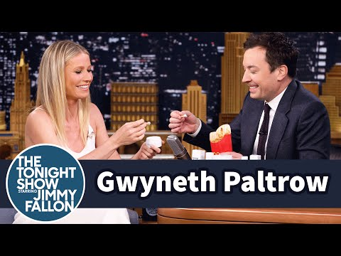 Gwyneth Paltrow and Jimmy Eat Her Goop Skincare Line