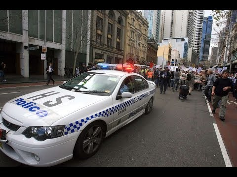 NSW Police Analog  - Recording date: 22/6/2010 - Special Event Sydney CBD