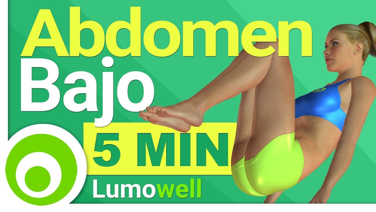 Como perder abdomen bajo