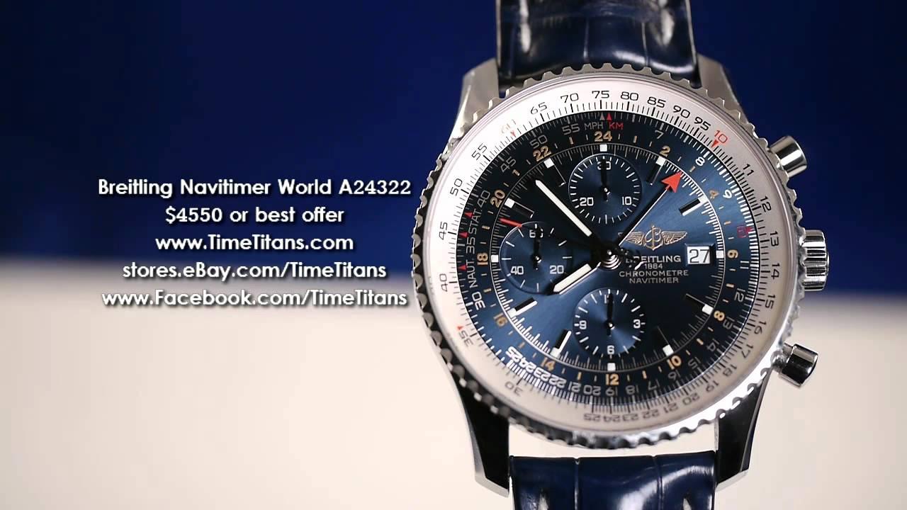 предложенных смело breitling watch navitimer world потому