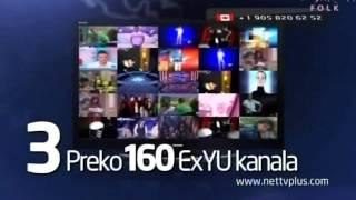 NetTv Plus EX YU kanali putem interneta!
