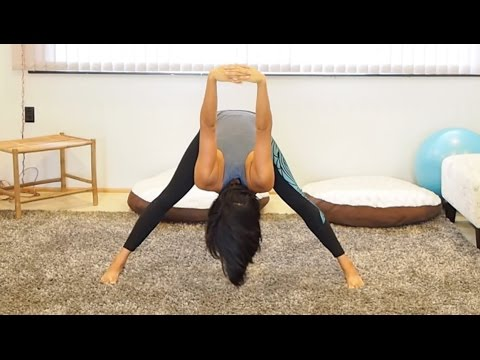 Full Body Stretch, How To Stretch Ideal For Yoga Stretch and Dance