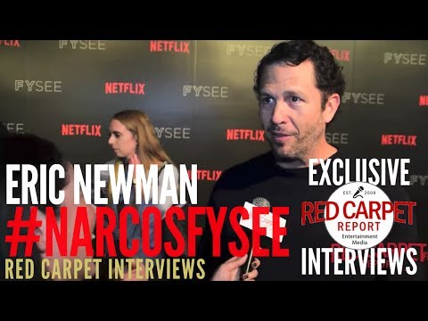 Eric Newman, Executive Producer, interviewed at Netflix FYSee event for Narcos #FYC
