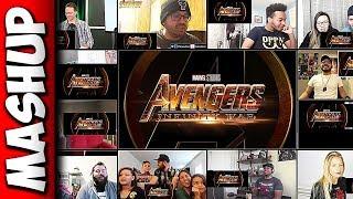 Avengers: Infinity War Trailer Reactions Mashup