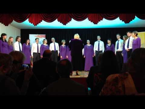 "Choir ""Mart akkord"" (Moscow) -  Ой, со вечора"
