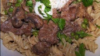 Beef Stroganoff - Gluten Free Recipe