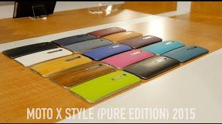 Motorola Moto X Style Hands On! (Pure Edition)