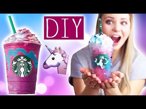 DIY STARBUCKS UNICORN Frappuccino!