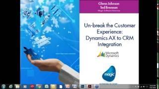 Gambar cover Un-break the Customer Experience: Dynamics AX to CRM Integration