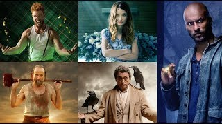 Американские боги (2-й сезон, 2019) - Новый русский трейлер #2 (фэнтези, драма)