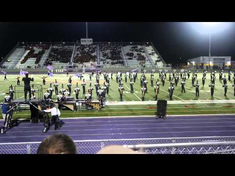 Lopez High School Marching Band at Pigskin Competition 2013