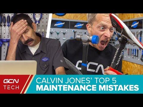 Top 5 Maintenance Mistakes With Park Tool's Calvin Jones