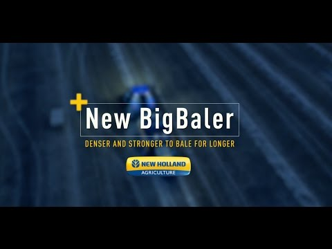 New BigBaler Plus. Denser and stronger to bale for longer.