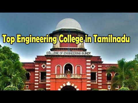 Top 25 Engineering Colleges in Tamilnadu || Anna University